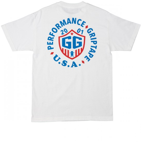 Grizzly Grip Performance T-Shirt - White