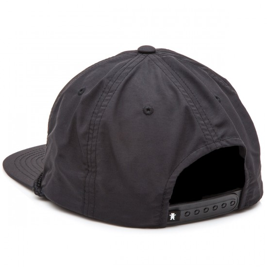 Grizzly Grip Silver River Snapback Hat - Black