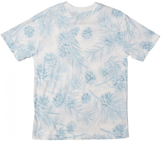 Grizzly Grip Summer Crop Reverse T-Shirt - White
