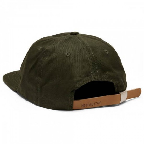 Habitat H-Crest Hat - Hunter Green