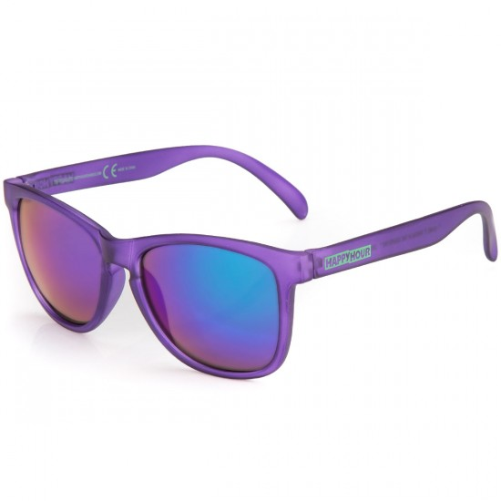 Happy Hour Justin Figgy Figuroea Grapvines Sunglasses - Purple Frost
