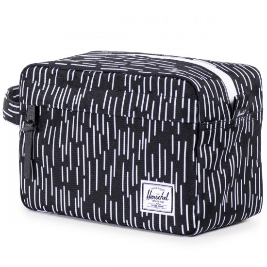 Herschel Chapter Bag - Black/White Rain Camo