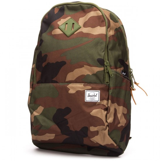 Herschel Nelson Backpack - Woodland Camo/Army Rubber