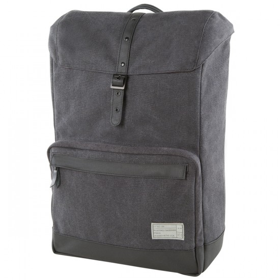 Hex Coast Backpack - Charcoal Canvas