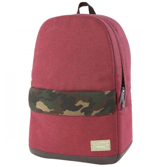 Hex Echo Backpack - Red/Camo