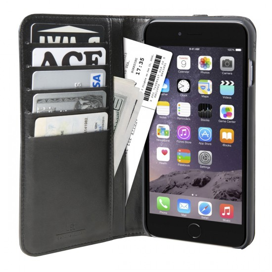 Hex iPhone 6/6S Icon Wallet Phone Case - Black