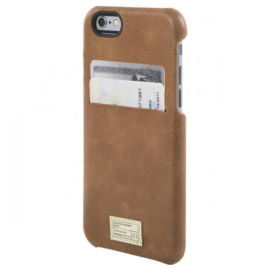 Hex iPhone 6/6S Solo Wallet Phone Case - Brown