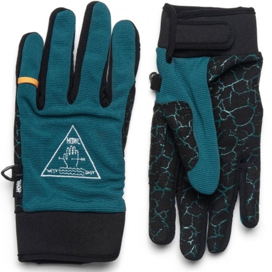 Howl Jeepster Snowboard Gloves - Dark Teal