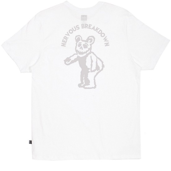 Huf Bear T-Shirt - White