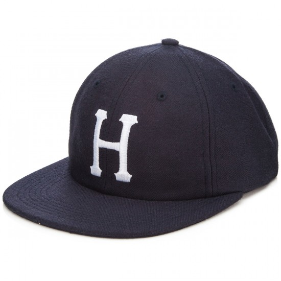 HUF Classic H 6 Panel Hat - Navy