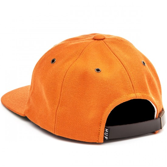HUF Classic H 6 Panel Hat - Rust