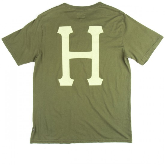 HUF Classic H Pigment Dyed T-Shirt - Military Green