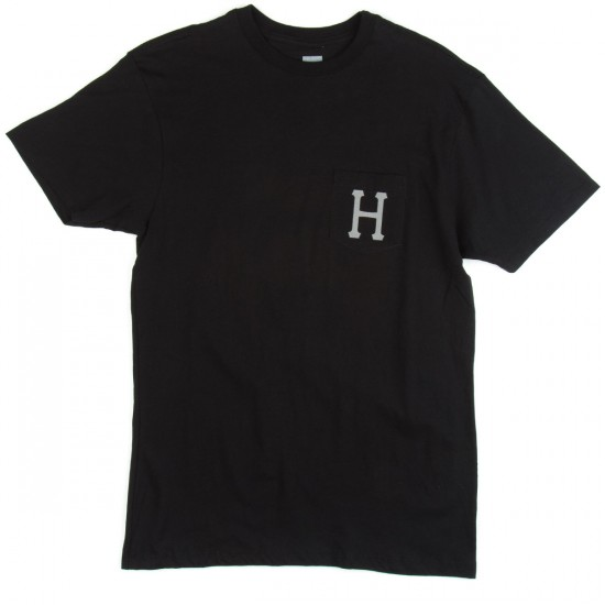 HUF Classic H Pocket T-Shirt - Black