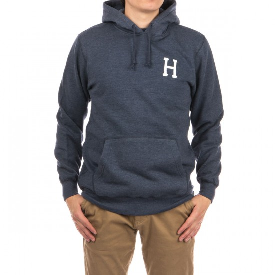 HUF Classic H Pullover Hoodie - Navy Heather