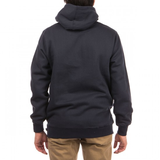 HUF Classic Logo Pullover Hoodie - Navy