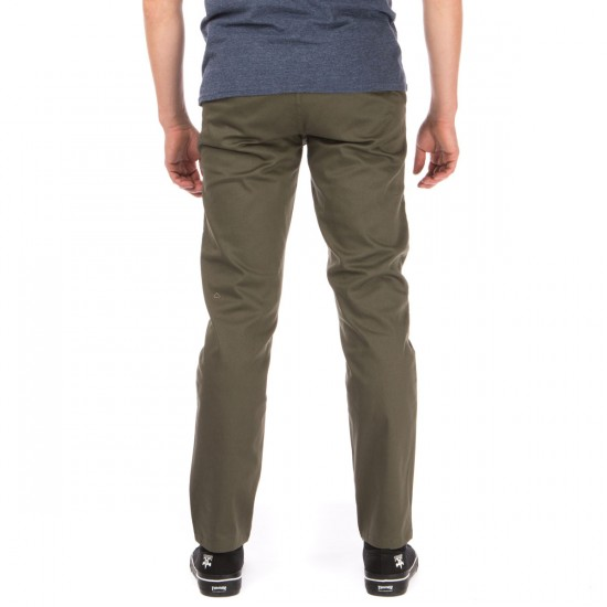 HUF Fulton Chino Pants - Military - 40 - 32
