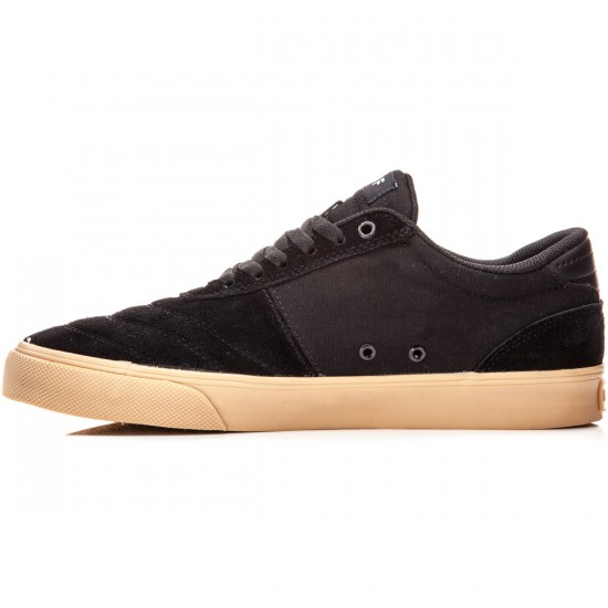 HUF Galaxy Shoes - Black/Gum - 8.0