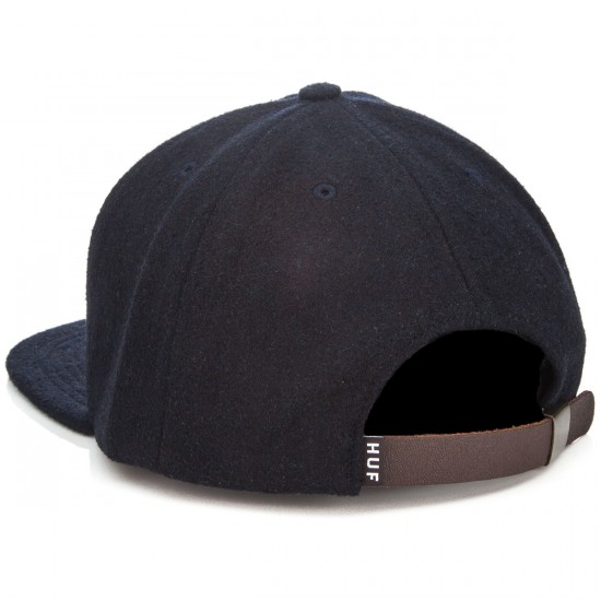 HUF Home Field Wool Snapback Hat - Navy