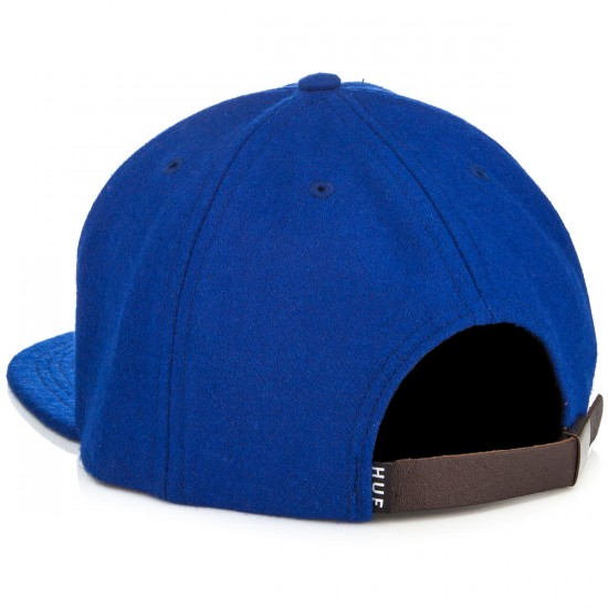 HUF Home Field Wool Snapback Hat - Royal
