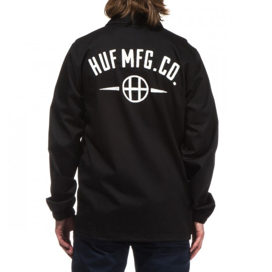 HUF MFG Station Jacket - Black