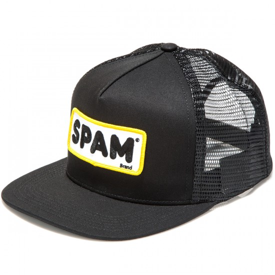 HUF Spam Trucker Hat - Black