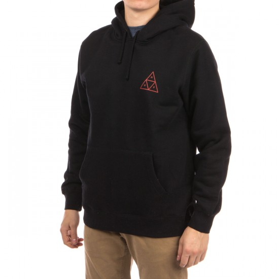 HUF Triple Triangle Pullover Hoodie - Black
