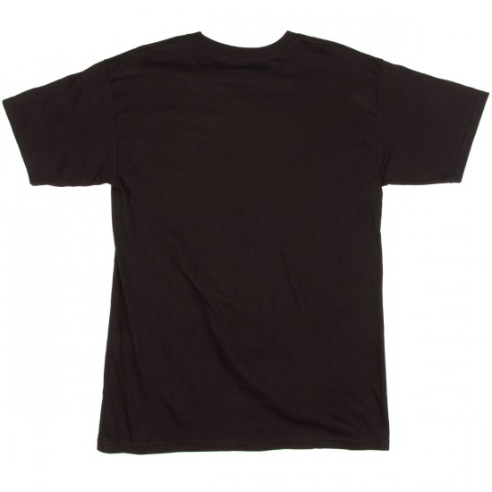 HUF Worldwide 2002 T-Shirt - Black