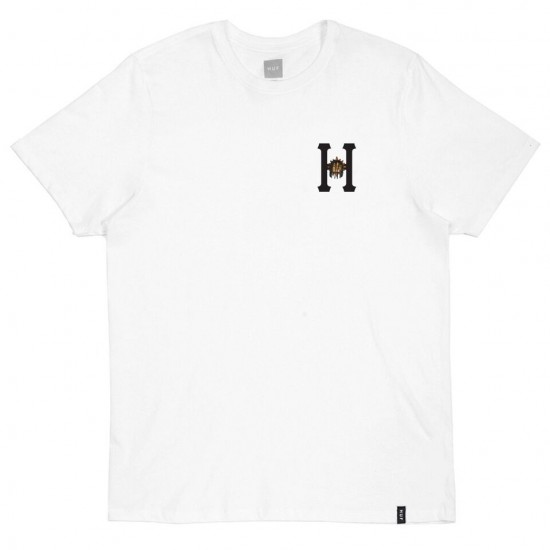 Huf X Chief Keef Glogang Classic H T-Shirt - White