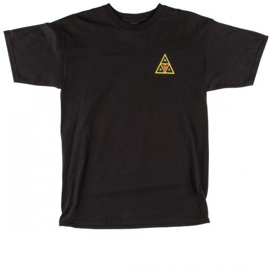 HUF X Obey Icon Face T-Shirt - Black