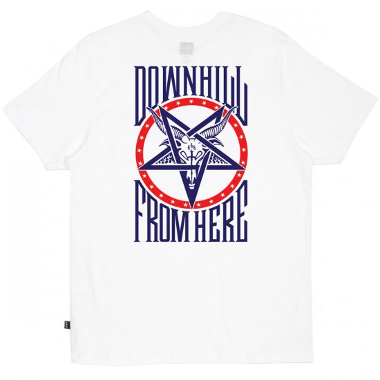 HUF Down From Here T-Shirt - White