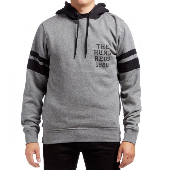 The Hundreds Mic Pullover Hoodie - Athletic Heather