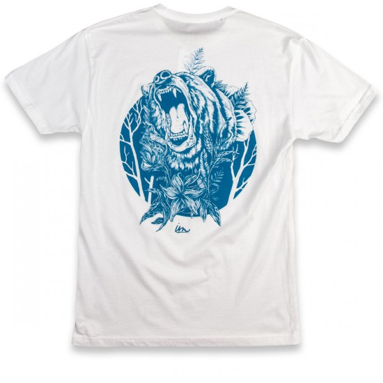 Imperial Motion Bear In Mind T-Shirt - White