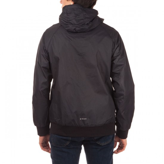 Imperial Motion Bevel Windbreaker Jacket - Black