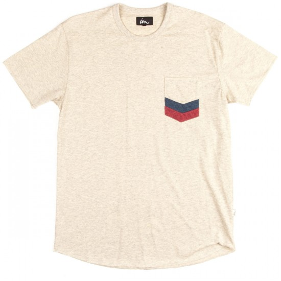 Imperial Motion Chev Pocket T-Shirt - Oatmeal