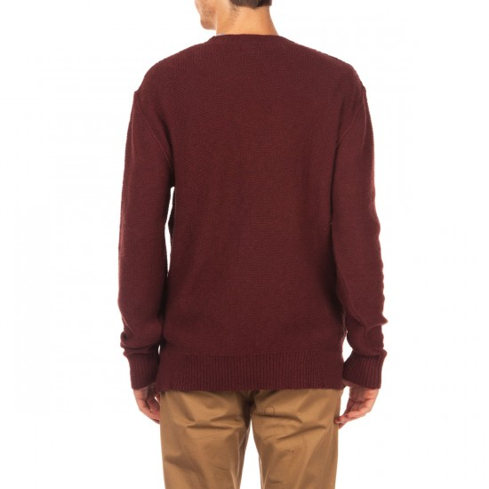 Imperial Motion Harold Sweater - Burgandy