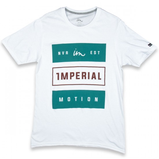Imperial Motion Heavy Type T-Shirt - White