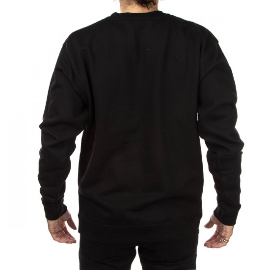 Imperial Motion Hybrid Crewneck Sweatshirt - Black