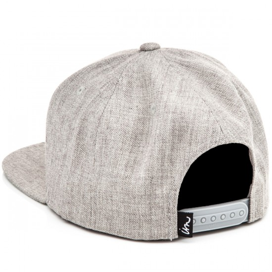 Imperial Motion Underline Snapback Hat - Grey Heather