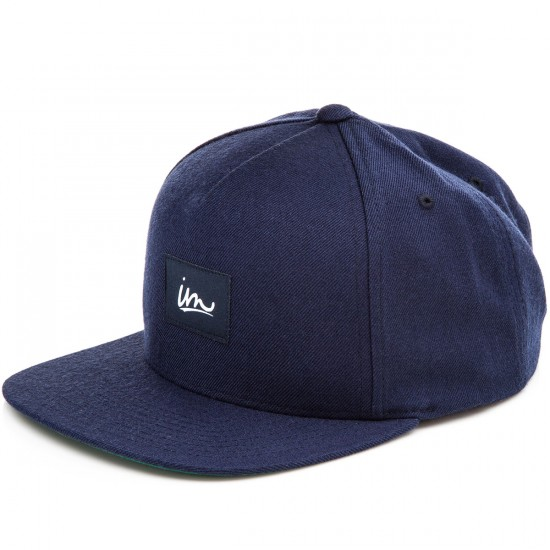 Imperial Motion Underline Snapback Hat - Navy