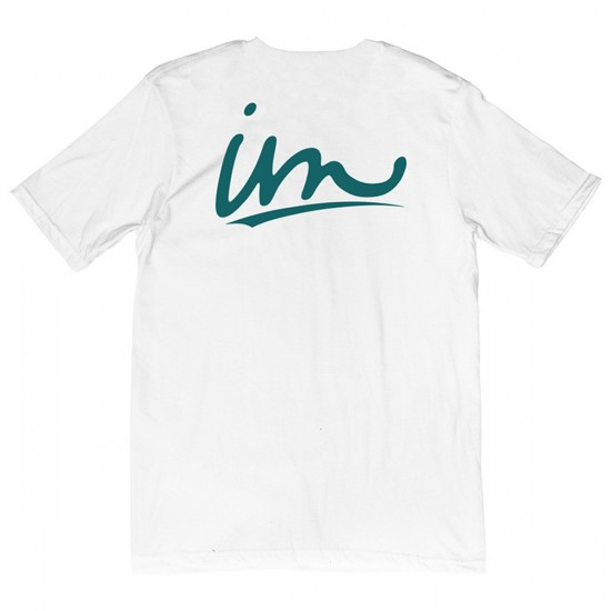 Imperial Motion Underline T-Shirt - White