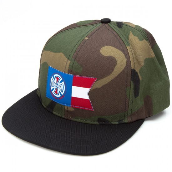 Independent AMI Banner Adjustable Hat - Camo/Black