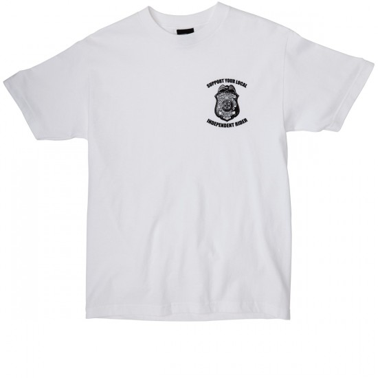 Independent Badge T-Shirt - White