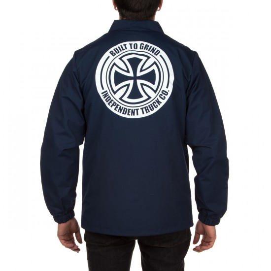 Independent BTG Cross Coach Jacket - Light Navy