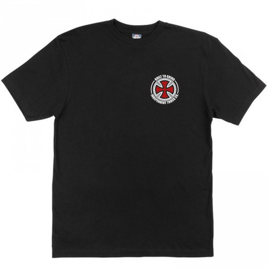 Independent BTG Cross T-Shirt - Black