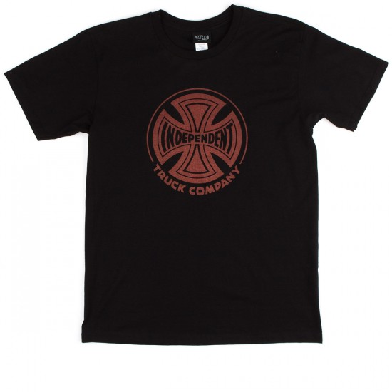 Independent Fade Cross T-Shirt - Black