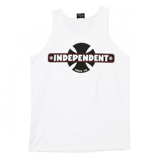 Independent Familiar Tank Top - White