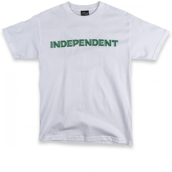 Independent Lines T-Shirt - White