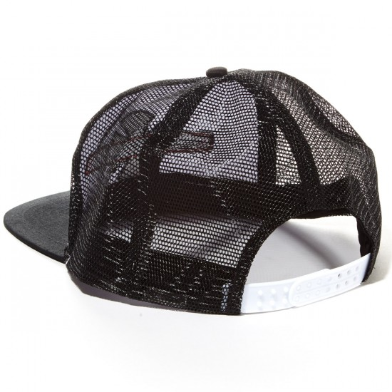 Independent OG Bar/Cross Trucker Hat - White/Black