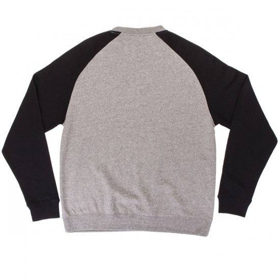 Independent RWC Patch Crew Neck Sweatshirt - Gunmetal Heather
