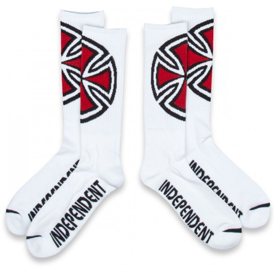 Independent Shinner Socks - White